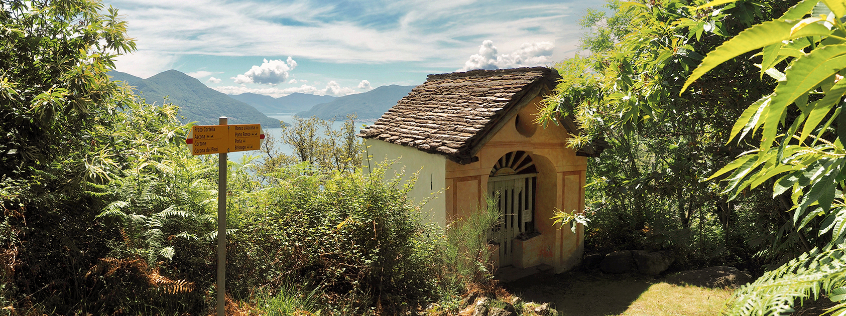 Cappelle Votive comune Ronco Sopra Ascona