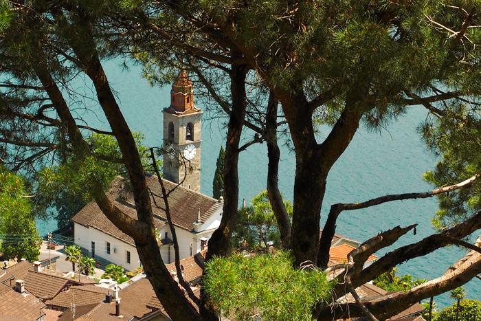 Ubicazione Comune di Ronco Scopra Ascona