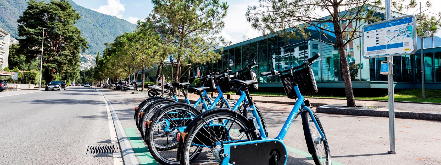 Locarno Bike Sharing Ronco Sopra Ascona